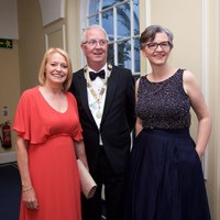 Law Society Deputy Director General Mary Keane with junior Vice President Michelle Ní Loinsigh and President Michael Quinlan