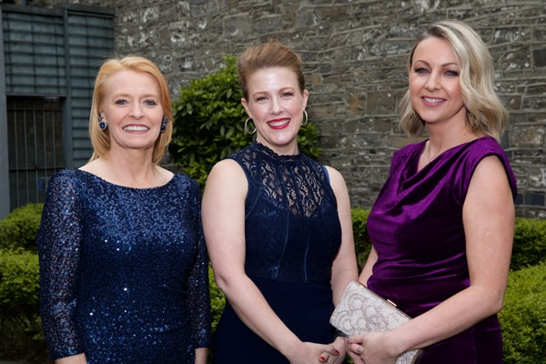 Mary Keane, Teri Kelly and Barbara Carroll, all of the Law Society