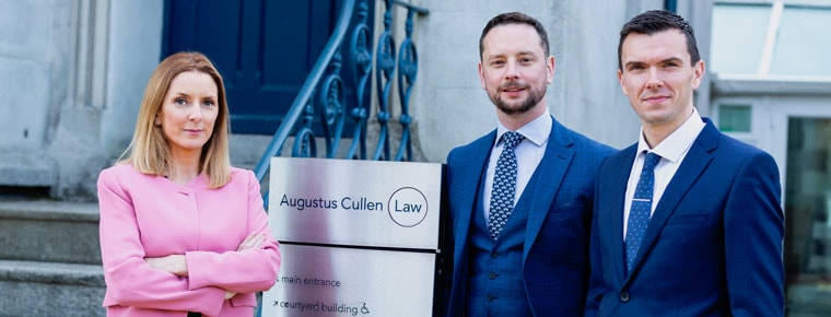 Two new partners appointed at Augustus Cullen Law