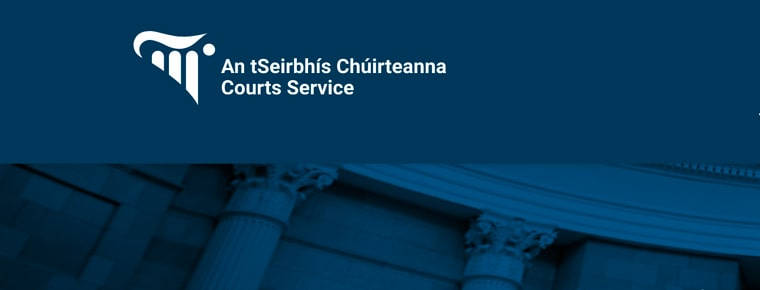 New web address for Courts Service Legal Diary