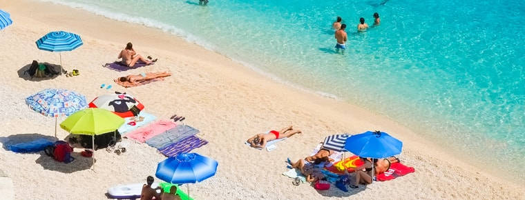 Sands of time – couple face jail for theft from Sardinian beach