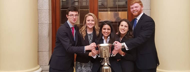 Blackhall Place law school scoops top prize in moot court contest