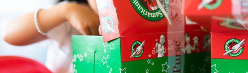 Christmas shoebox appeal