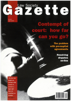 Contempt of court: how far can you go?