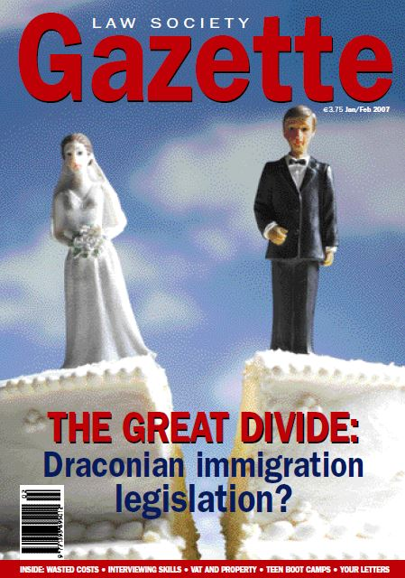 The Great Divide: Draconian immigration legislation?