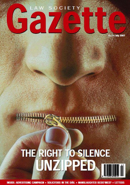 The Right to Silence Unzipped