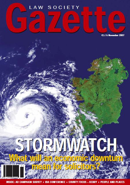Stormwatch: What will an economic downturn mean for solicitors?