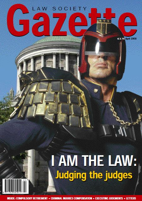 I am the Law: Judging the judges
