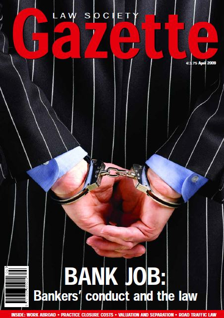Bank Job: Banker's conduct and the law