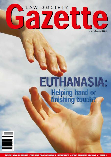 Euthanasia: Helping hand or finishing touch?