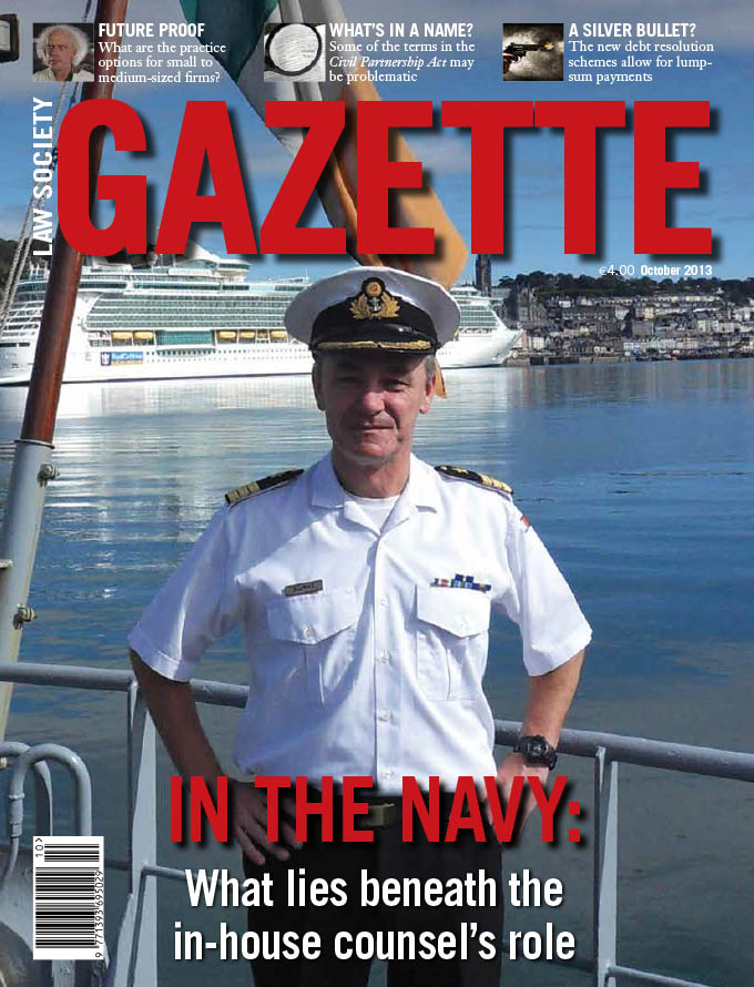 In the navy: What lies beneath the in-house counsel's role
