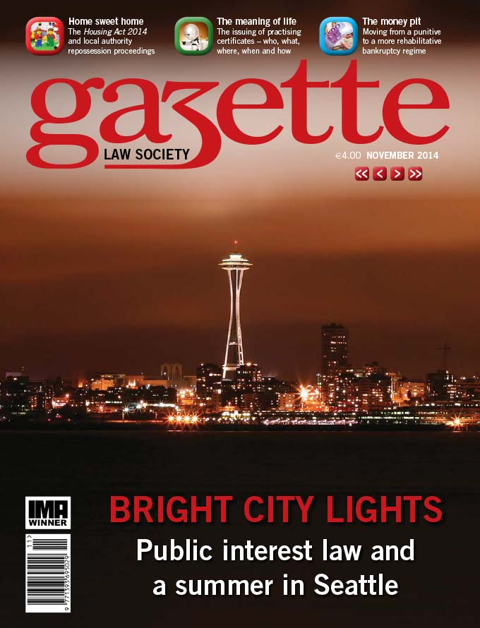 Bright city lights - Public interest law and a summer in Seattle