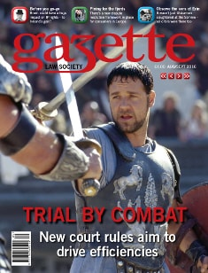 Trial by combat: new court rules aim to drive efficiencies