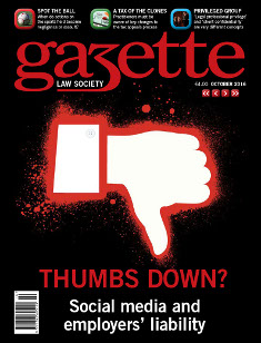 Thumbs Down? Social media and employers' liability
