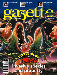 Little plot of horrors - invasive species and property